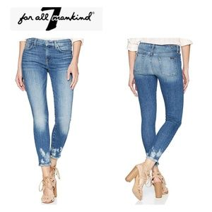🎈7 For All Mankind Skinny Ankle 👖, NWT, Sz 28